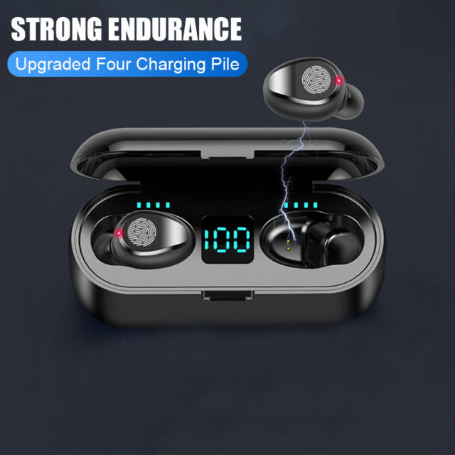 Bluetooth V5.0 Earphone Wireless Earphones Earbuds