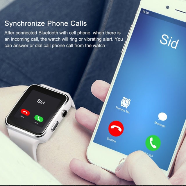 Touch Screen Smart Watches with Camera