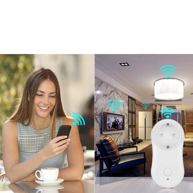 Wireless Smart Plug with Application and Home Assistant Control Functionality