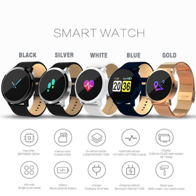 Sport Style Color Screen Multifunctional Smart Watch