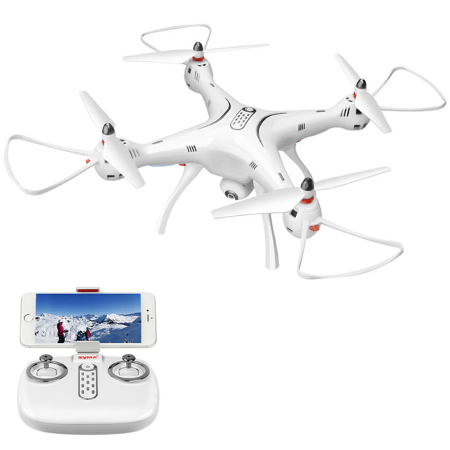 Solid White Design 720P HD Camera Drone