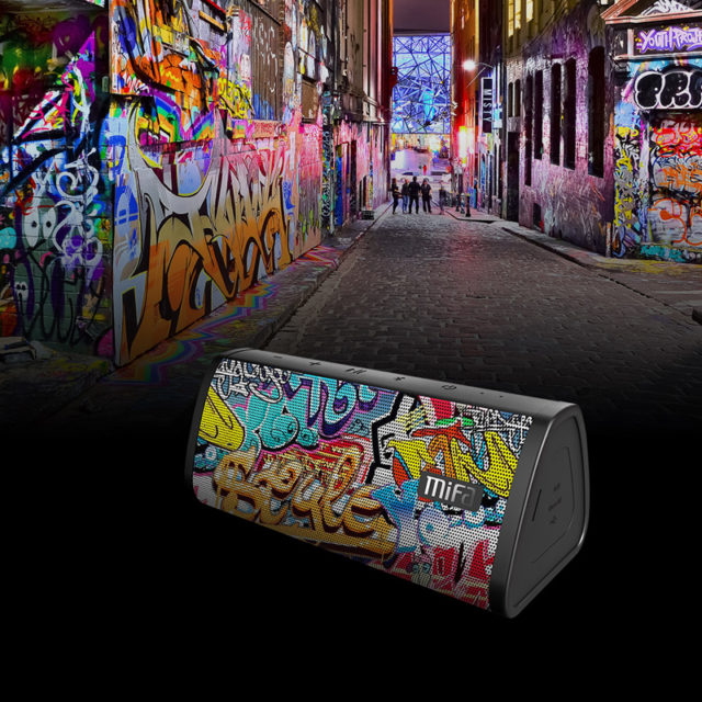 Graffiti Printed Wireless Bluetooth Speaker