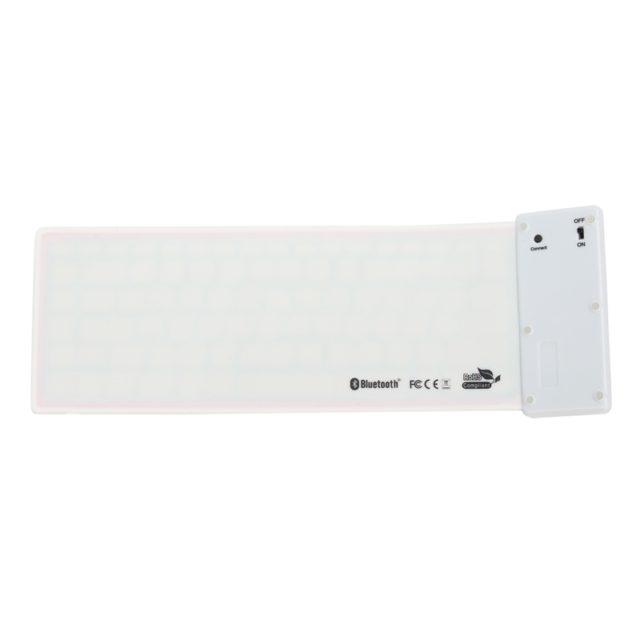 Foldable Waterproof Universal Portable Bluetooth Soft Keyboard