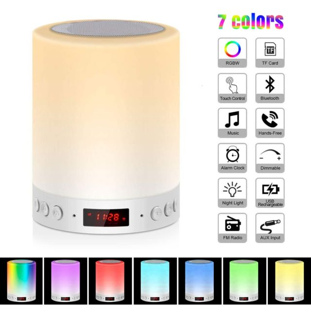 Smart Lamp Colorful WiFi Touch Control  TF Card Smart Home