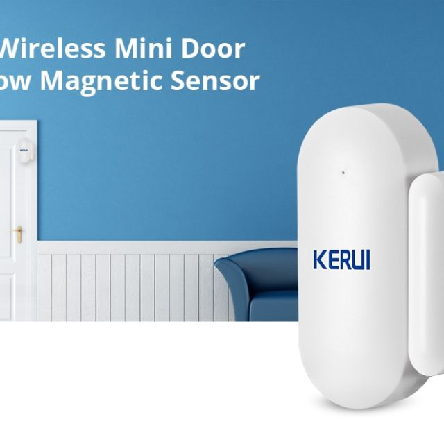 Wireless Mini Home Security Door Window Sensor For GSM WIFI Alarm