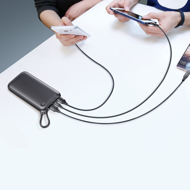 Big Power Bank 20000mAh for iPhone 18W PD Fast Chagring