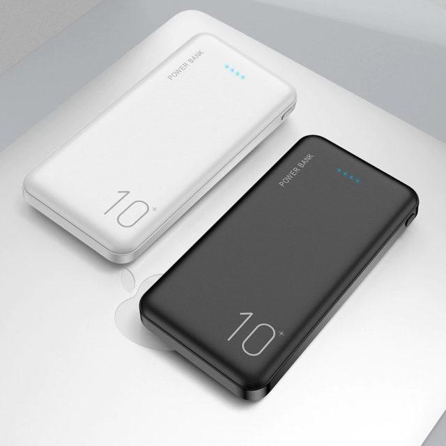 10000 mAh Universal Dual USB Power Bank