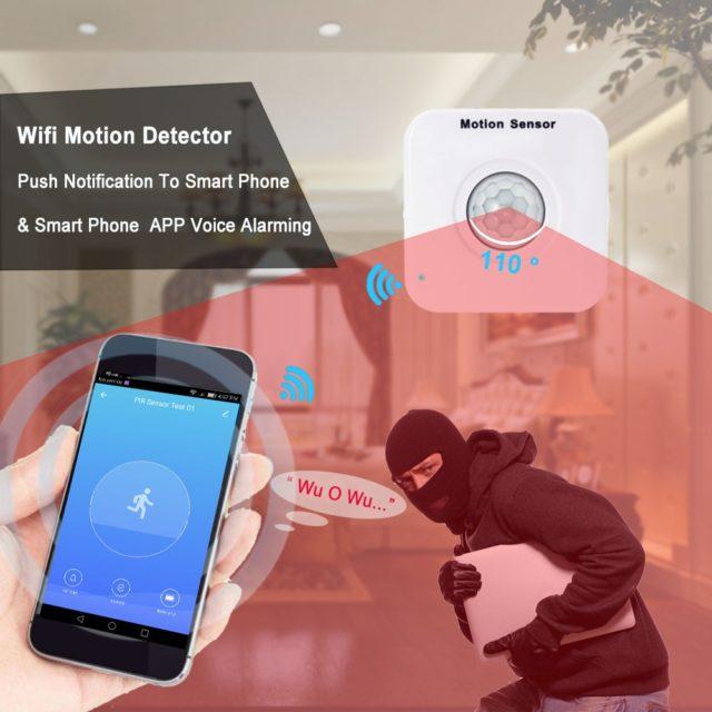 WIFI Motion Sensor Mini PIR Smart APP Security System