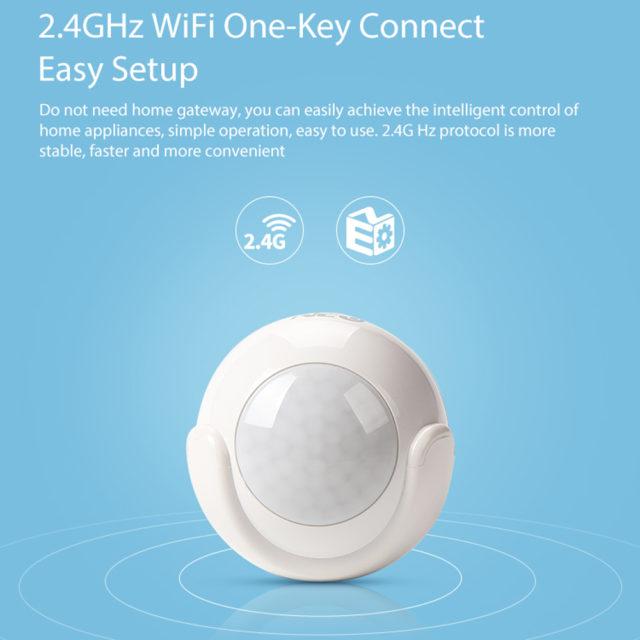 NEO COOLCAM Smart WiFi PIR Motion Sensor Human Body Sensor App Control