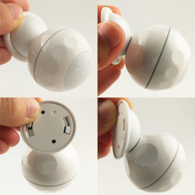 Smart WiFi PIR Motion Sensor magnet bracket Support IFTTT Smart Home