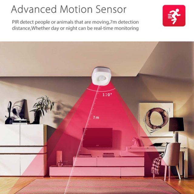 WIFI Motion Sensor Mini PIR Motion Detector WIFI Smart Life APP