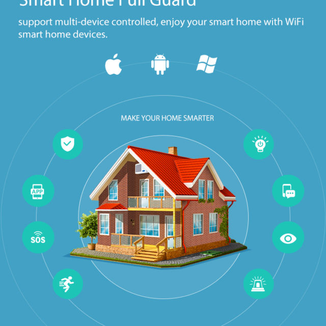 Infrared Home Detector WiFi Smart PIR Motion Sensor Voice Control