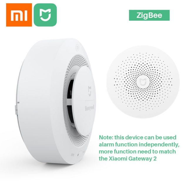Xiaomi Fire Alarm Smoke Detector Sensor Audible Mi Home APP