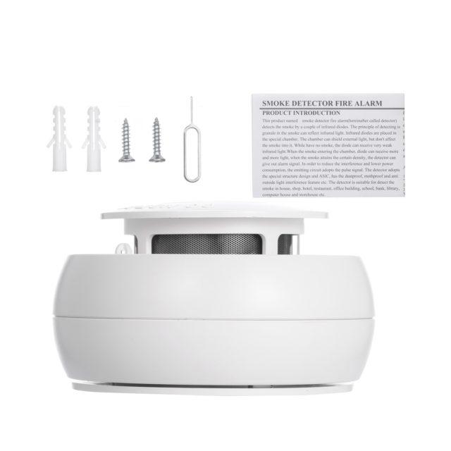 WIFI Smoke Detector Fire Alarm Smokehouse Combination Smoke Sensor