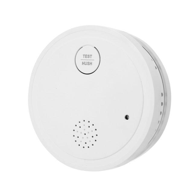 Tuya 433MHz WiFi Strobe Smoke Detector Wireless Independent Alarm Smoke Home Security Alarm Smoke Detector Sensor Fire Equipment