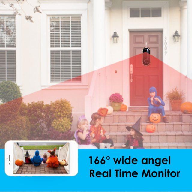 1080P Smart WIFI Doorbell Intercom Video Ring Door Bell With Camera App