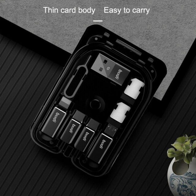 Multi-function Smart Adaptor Card Storage data cable USB Box Wireless charging. MUST HAVE KiT!