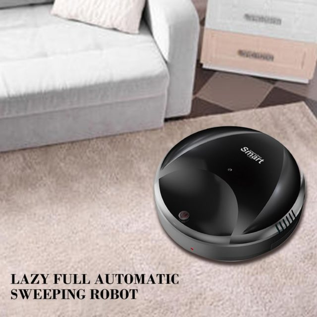Ultra Thin Design USB Charging Smart Auto  Vacuum Cleaner