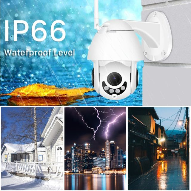 Rotation 1080P WiFi IP Smart Camera Wireless Wired Security Camera App Control