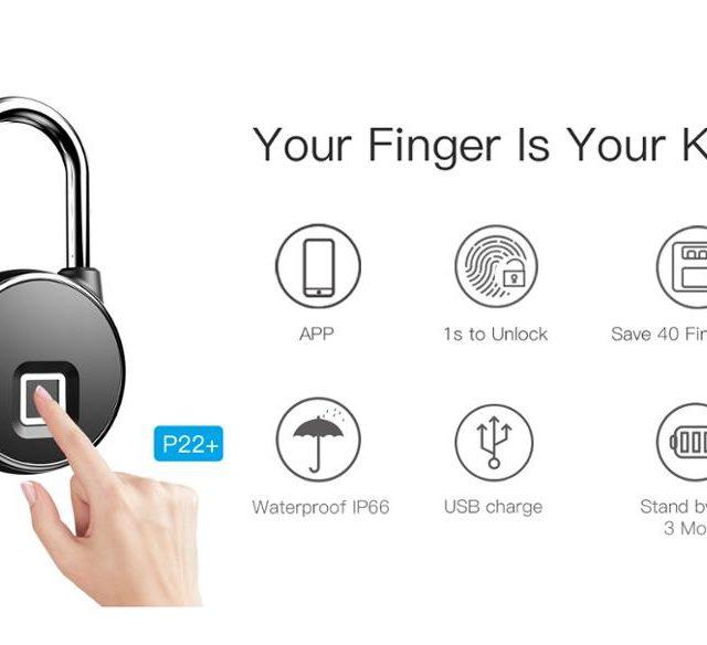 Bluetooth Lock Smart Fingerprint Lock Anti-Theft Security Smart APP