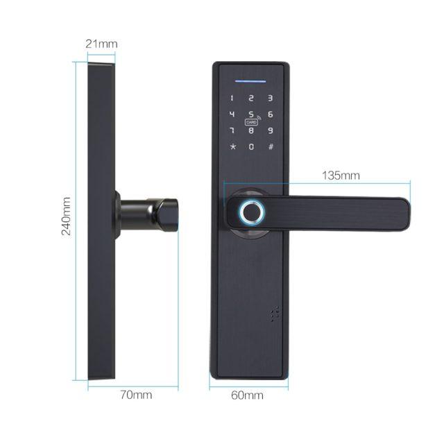 WIFI Electronic Door Lock, Intelligent Biometric Fingerprint, smart APP