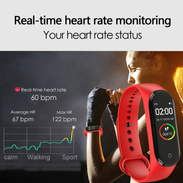 New Smart High Quality Belt Sports Blood Pressure Heart Rate Waterproof
