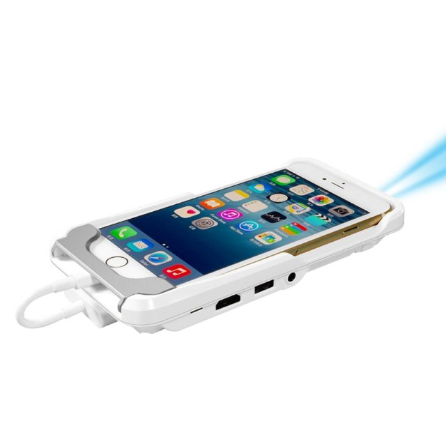 Screen projector Beam Projector For iPhone, Power Bank