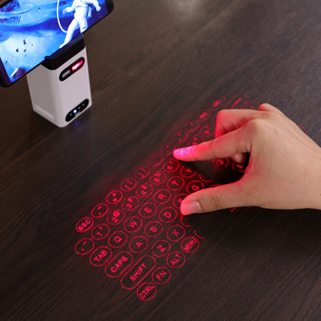 Virtual laser keyboard Wireless Projector, Power Bank