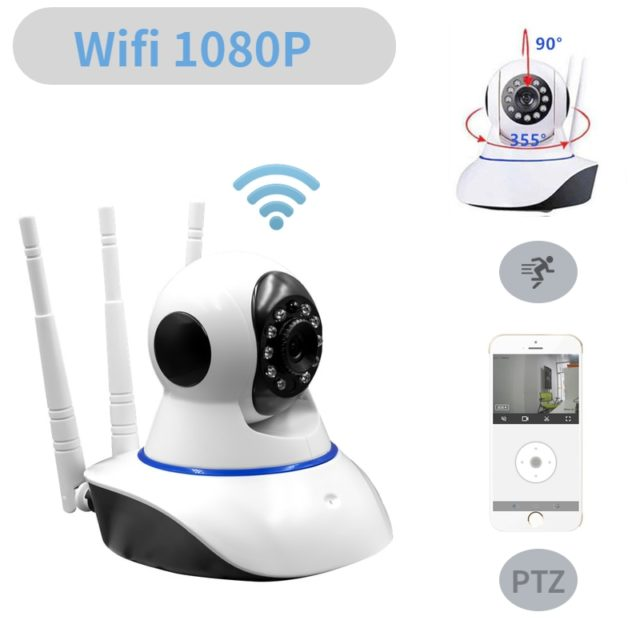 HD1080P Cloud Ip Camera Wifi Surveillance Cameras Security Wireless
