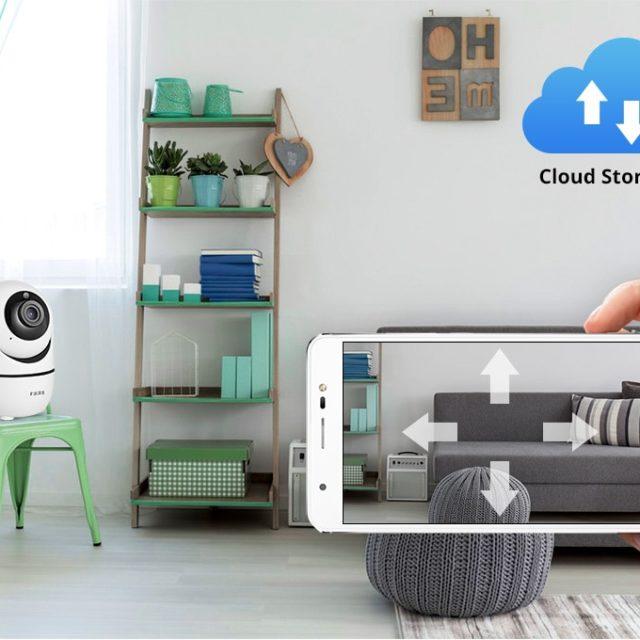 Fuers HD 1080P IP Camera Tuya APP Indoor camera CCTV Surveillance Mini Wireless Security Camera WiFi Camera Night Vision