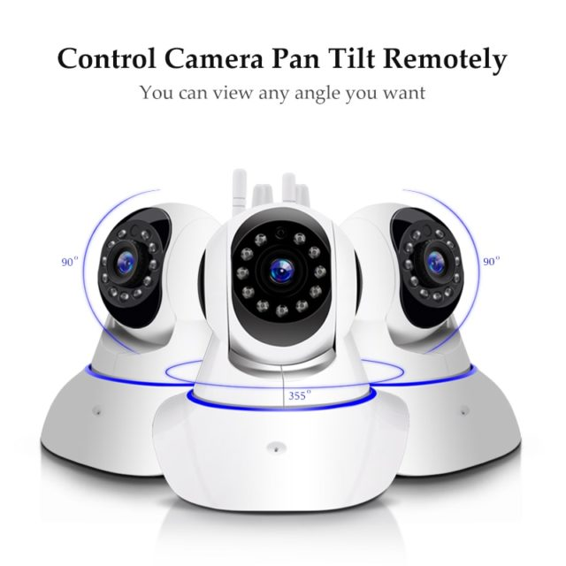 1080P IP Camera Wireless Security Wifi  Night Vision