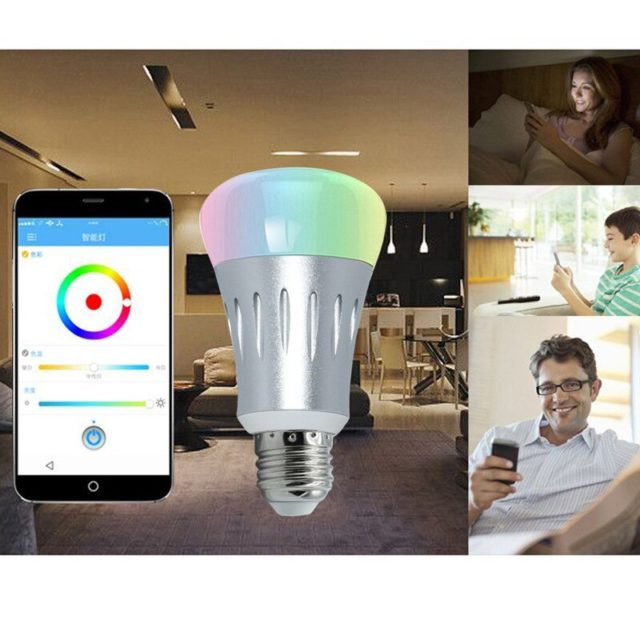 Smart  Wifi LED light Color Changing Support Amazon Alexa Voice timing