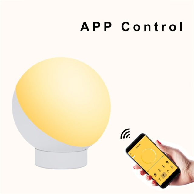 Smart WiFi Table Lamp Voice Control Alexa Google Smart Home