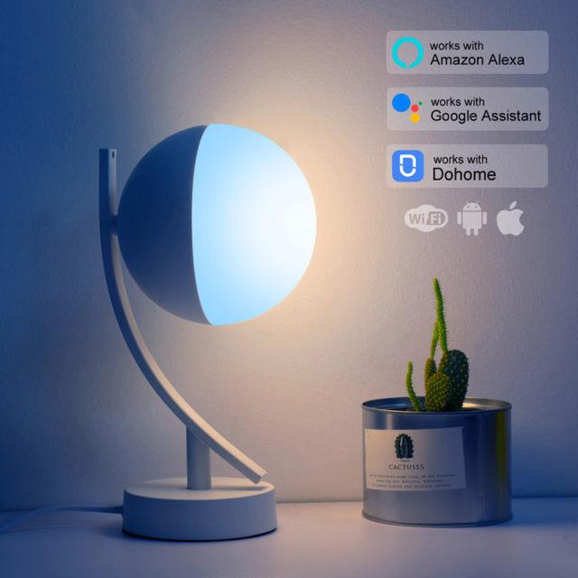 Smart APP WiFi Music Lamp Wireless Control Timer Smart Home