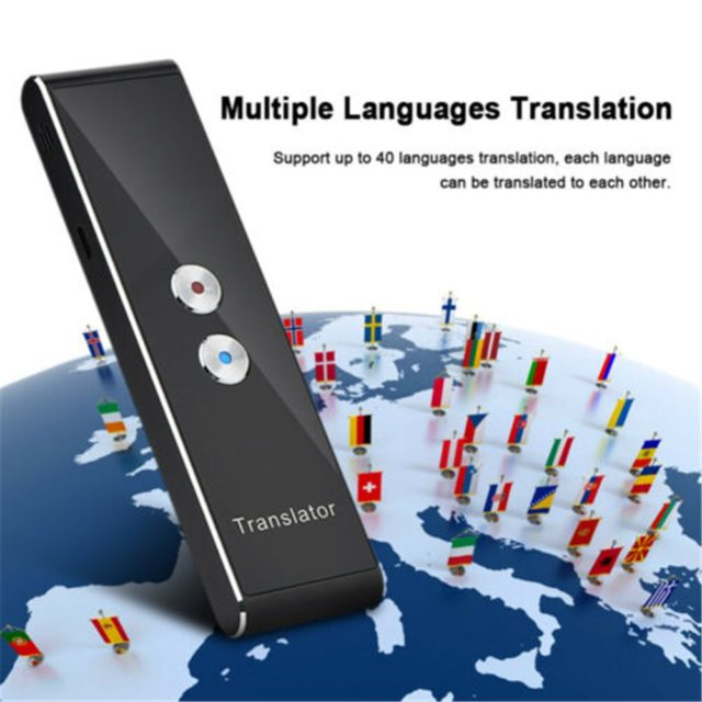 Instant Multi-Language Smart Voice Translator. 40 languages