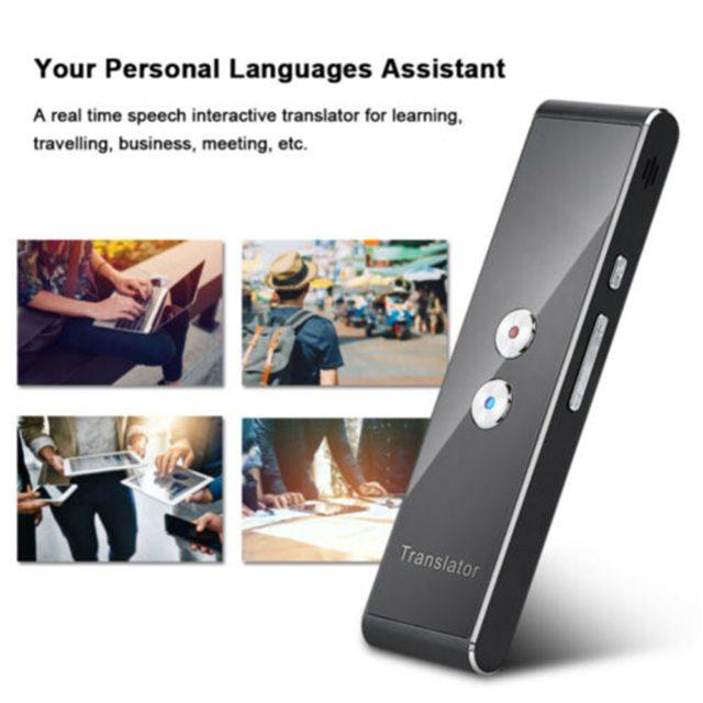 Instant Multi-Language Smart Voice Translator. 40 languages