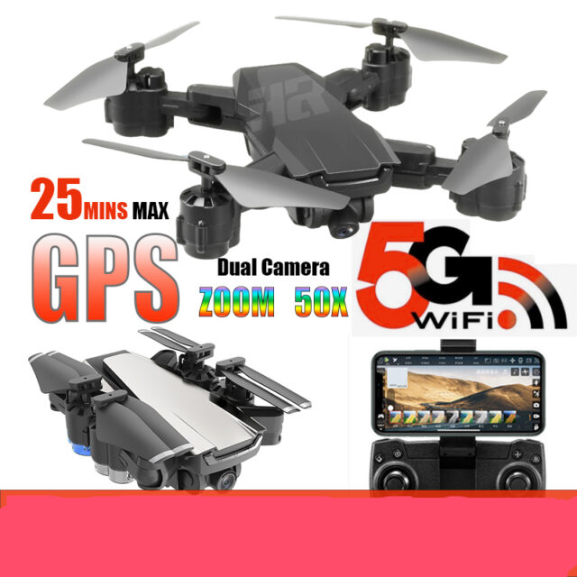 Professional quadcopter gps 4K 1080P 5G WIFI Smart Following