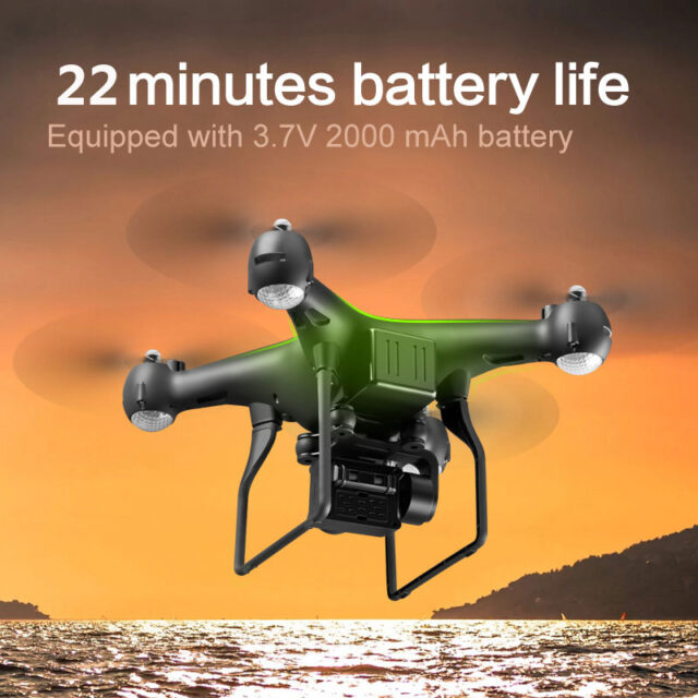 Professional Drone with 4K ESC Camera HD WiFi FPV Altitude Hold