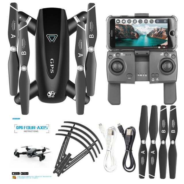 GPS Drone With Camera 5G RC Quadcopter HD 4K WIFI FPV Foldable