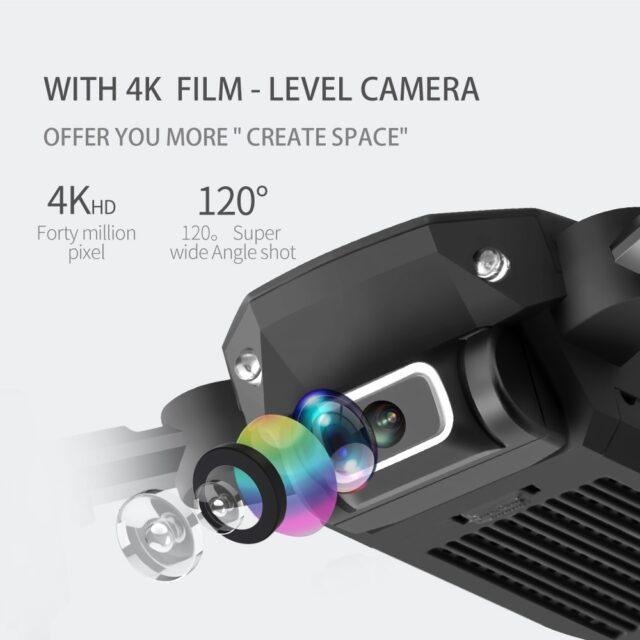 2020 NEW RC drone 4k HD wide angle camera wifi fpv