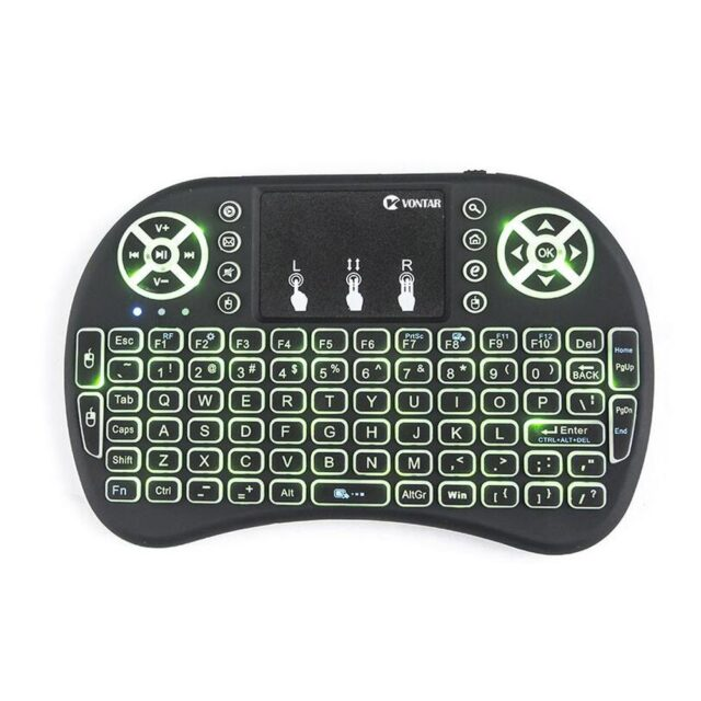 Mini Wireless Keyboard 2.4GHZ Air Mouse For Android TV Box