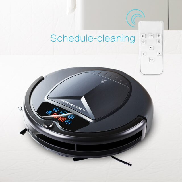 Robot Cleaner B3000 LED Touch Screen Self Recharging Suction Anti-fall Sensor