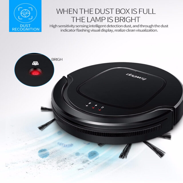 Isweep Robotic Vacuum Cleaner Mopping Machine Auto Smart Home Appliances