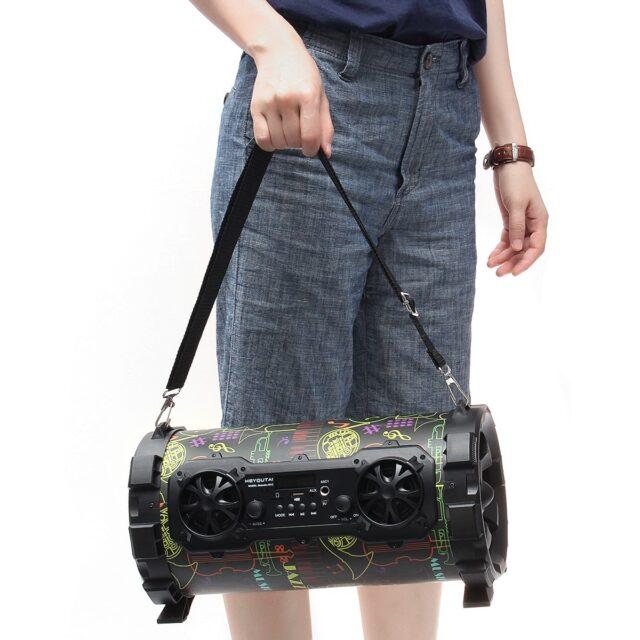 Speaker bluetooth Speaker Subwoofer AUX USB TF Card FM Radio Outdoor