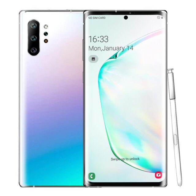 Note 10+ Android 9.0 4800mAh ROM Smartphone 6.5 inch Full screen Dual cameras