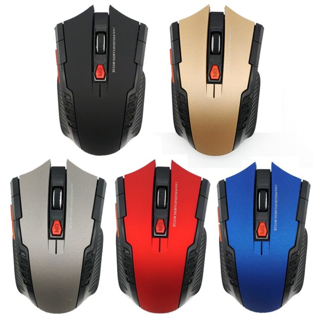 1600DPI Ergonomic Optical Mice Wireless Mouse Portable Home Office Game Mouse 2.4G Wireless Mouse For PC Gaming Laptops D30