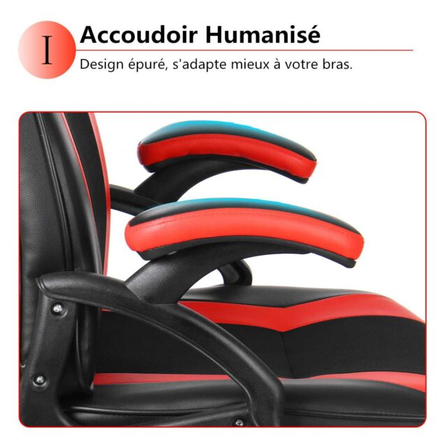 Adjustable Reclining Gaming Chair High Back Executive Desk Computer Chair