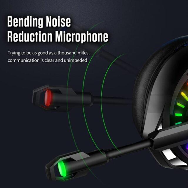 Gaming Headphones 4D Stereo RGB Earphones Headset