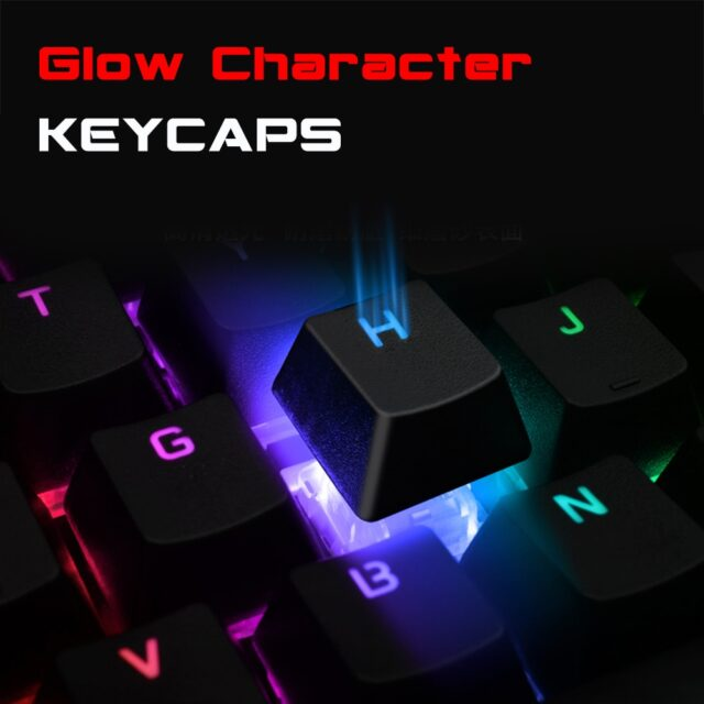 Mechanical Keyboard Wired Gaming Keyboard RGB