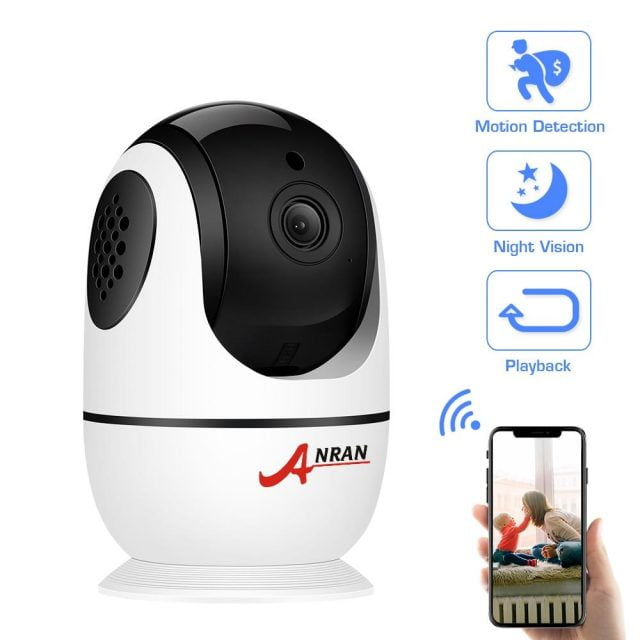 1080P IP Camera Wireless Home Security Camera Two-way Audio S Night Vision